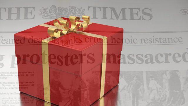 好きな人への誕生日プレゼントには「誕生日新聞」を添えて特別感をつくるのアイキャッチ画像